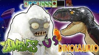 Dinosaurio VS Zombies / Plantas VS Zombies  /Manito y Maskarin