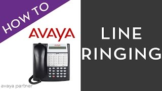 Avaya Partner programming tips: Line Ringing