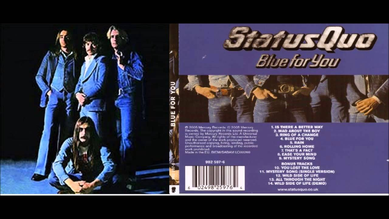Status Quo Messages From The Status Quo
