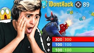 I REACT TO THE NEW HACKERS ON FORTNITE! (89 world record kills)