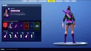 New Skin SYNTH STAR - Fortnite