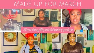 Made Up For March: Step By Step Makeup Tutorial & Interview with Paige Prince @PalettesbyPaige