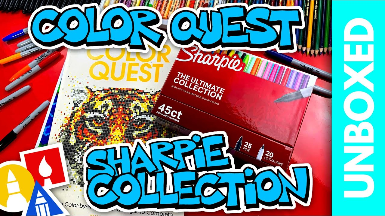 UNBOXED: Color Quest + Sharpie Ultimate Collection