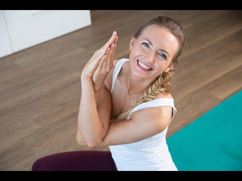 yoga for shoulder pain relief 45 mins  intermediate