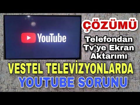 Vestel Televizyonlarda Youtube Bağlanma Sorunu Çözümü