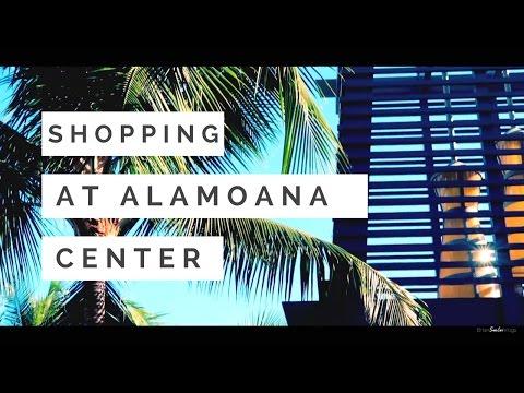 SHOPPING AT ALAMOANA CENTER  VLOG11