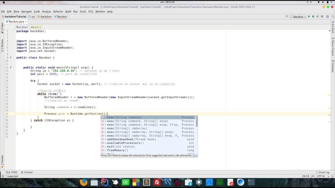Java cration dune simple backdoor youtube java cration dune simple backdoor baditri Gallery