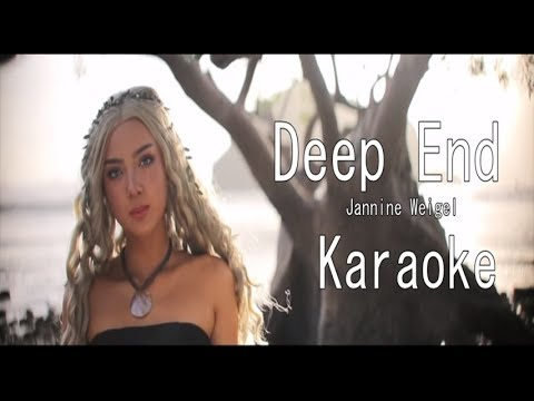 Jannine Weigel - Deep End (Karaoke)