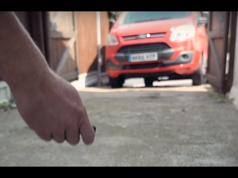 Ford Transit-Fahrzeugschlüssel hält ein Fahrzeugleben lang