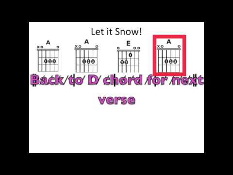 Let it Snow! - Moving chord chart