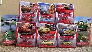 8 NEW Pixar Cars Nature Drive Lightning McQueen Disney Planes Zed Chug Maurice Wheelks Chase toys