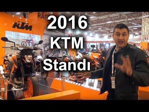 MotoBikeExpo '16 KTM Standı