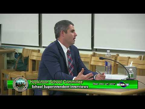 Kevin Carney School Superintendent Interview