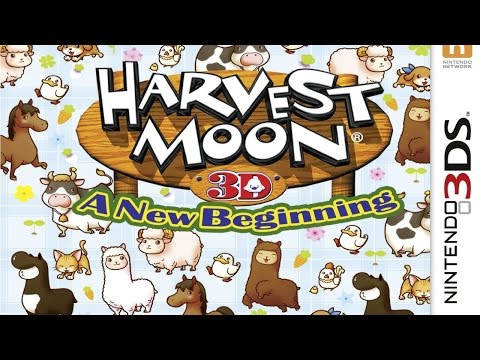 Harvest Moon A New Beginning Gameplay (Nintendo 3DS) [60 FPS] [1080p]