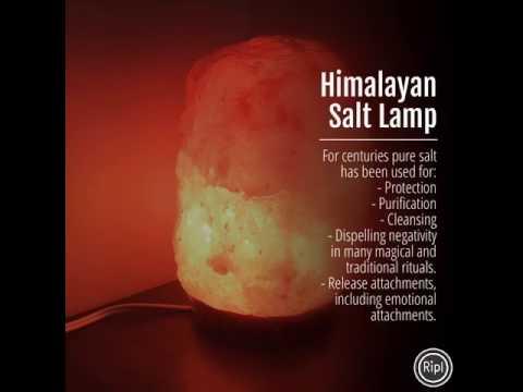 Himalayan Salt Lamps www.cuartoastral.com $15