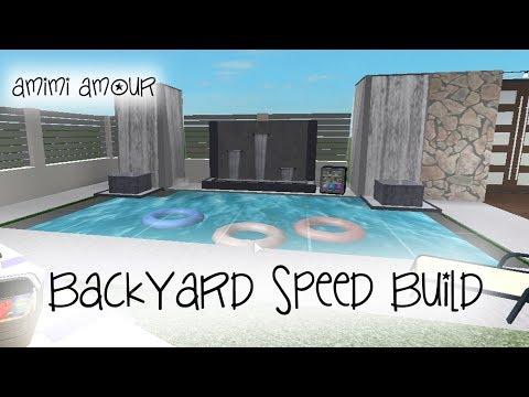Backyard Ideas Cool Backyard Ideas Bloxburg