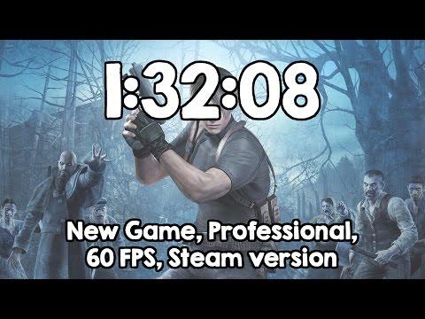 Resident Evil 4 Speedrun 1:32:08