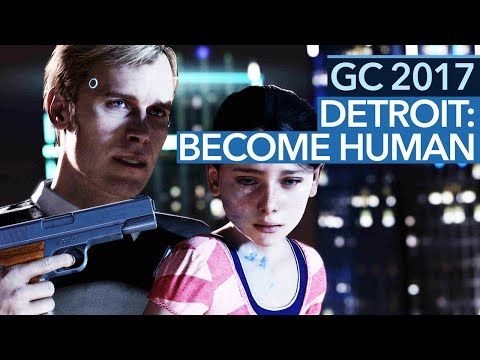 Detroit: Become Human - Gamescom-Demo: Retten wir die Geisel?