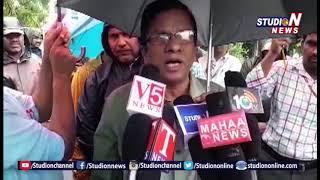 KTPS, DAV Schools Teacheing And Non Teaching Staff Protest Over Pending Arrears | Studio N