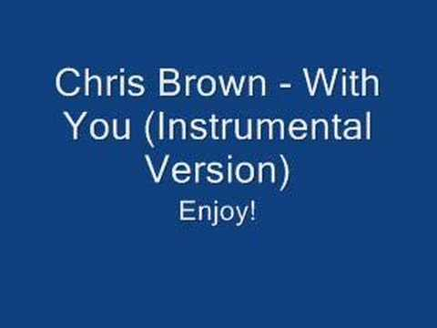 Chris Brown - With You Instrumental