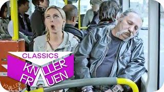 Wenn man im Bus einschläft