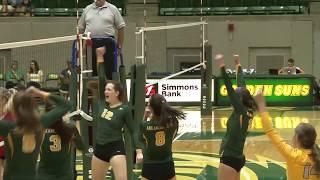 Arkansas Tech Volleyball vs. Central Missouri (09/14/17) - Highlights
