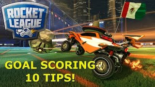GOAL SCORING TIPS & TRICKS! - Rocket League Sixpack's Academy [Guide]