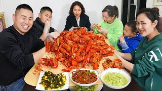 Chao spent 430 yuan to make 5 kilos of brined crawfish, the mother-in-law had been complimenting