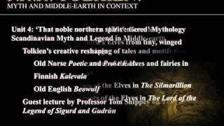 ONLINE COURSE: J.R.R. Tolkien: Myth and Middle-earth in Context