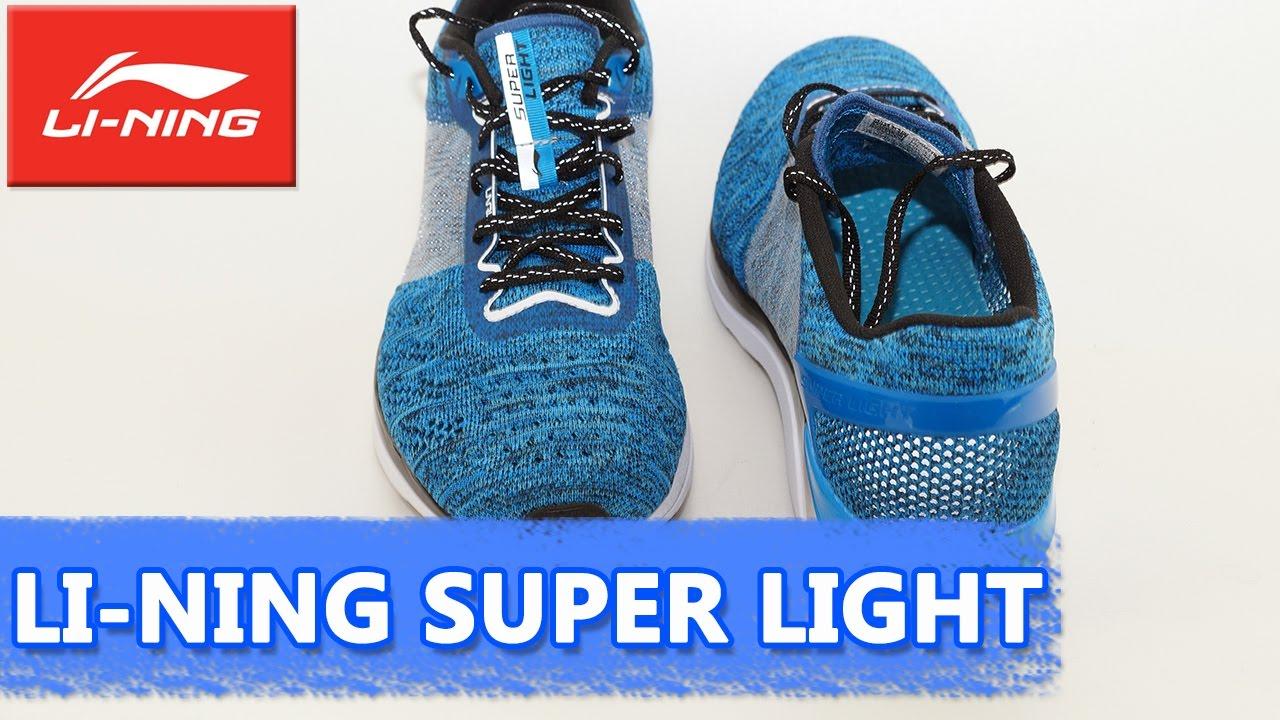 летние кроссовки Li Ning Super Light легкие и дышащие Arbm019 Youtube