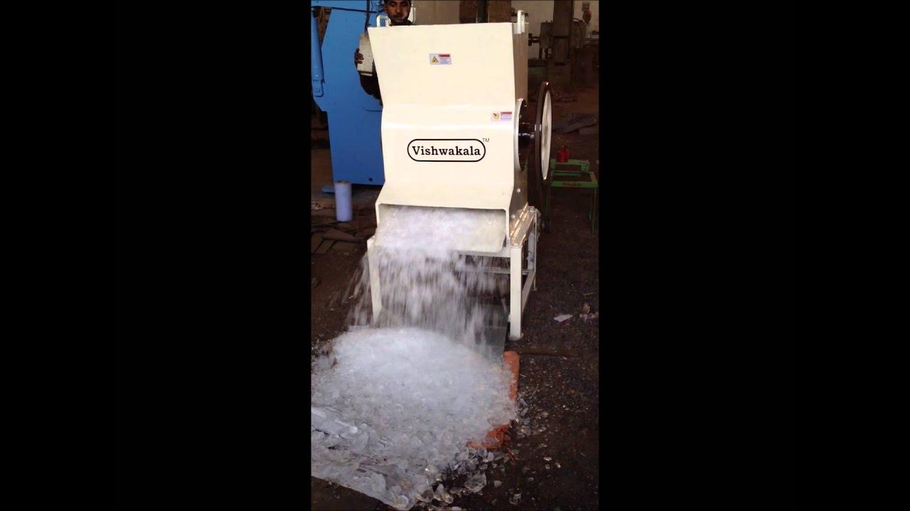 jumbo heavy ice crusher machine vishwakala youtube