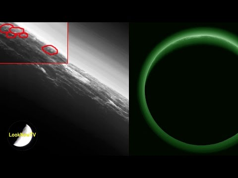 Alien Bases On Pluto? NASA Says Pluto's A Twilight Zone! UFOs More Evidence! June 2016