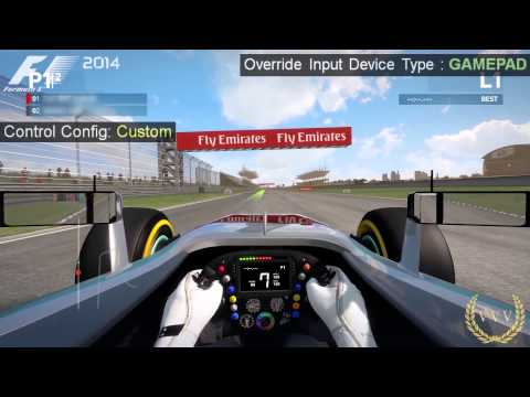 F1 2014 Hidden Controller Assist Performance
