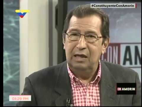 Adán Chávez en el programa Con Amorín sobre la Asamblea Nacional Constituyente