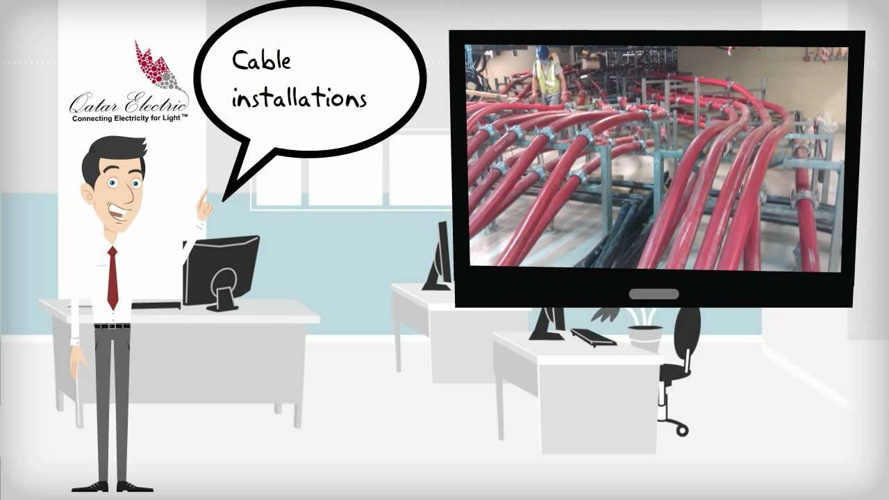 Qatar Electric - Rental Winch Machine, High Voltage Contractor