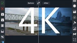 Video Grade App Tutorial For Mobile Video Color Grade 4K