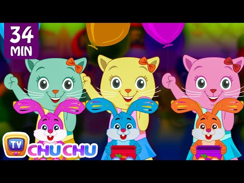 Three Little Kittens Went To The Fair | Nursery Rhymes by Cutians | ChuChu TV Kids Songs