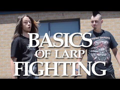 Basics Of LARP Fighting!!!