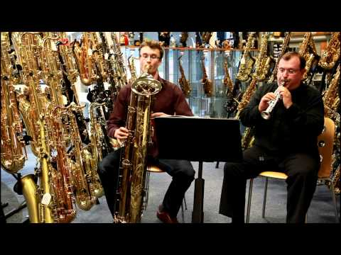 Soprillo & Tubax Contrabass Saxophone Duet