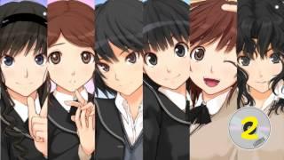 Amagami OST[HD] ~ Ending Theme(Zutto, Kono Mama de...) 1 [DISC 2]