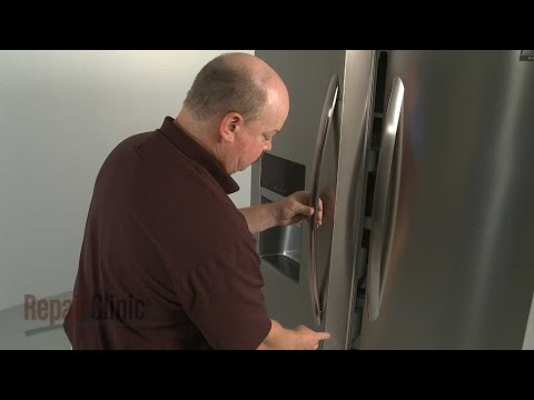 Refrigerator Door Handle - Frigidaire Refrigerator
