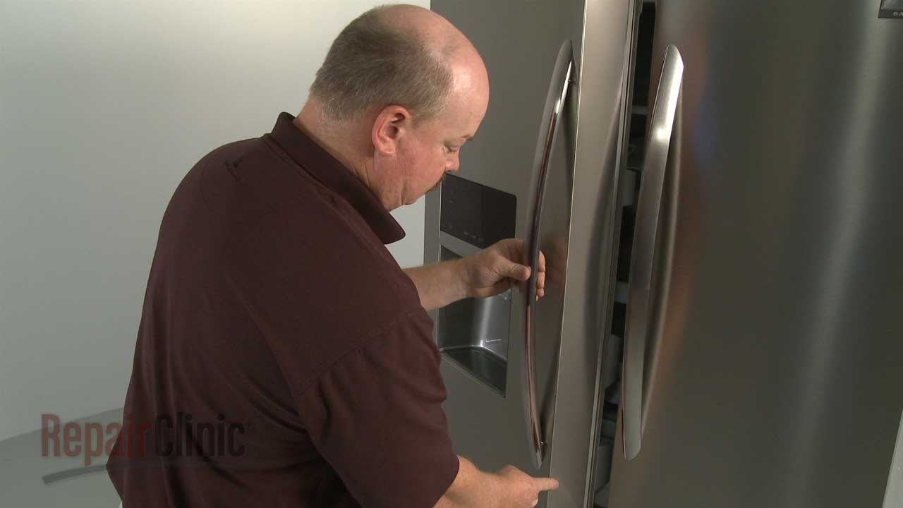 Frigidaire Refrigerator Door Handle Replacement #241930101 - YouTube