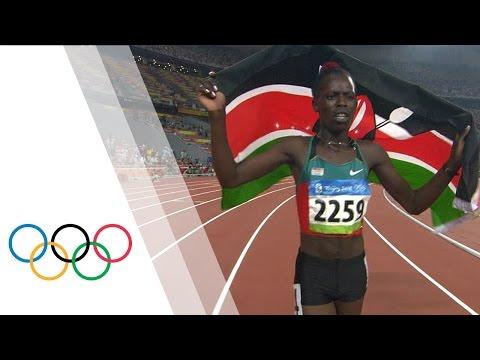 Pamela Jelimo wins Women's 800m Olympic gold | Beijing 2008