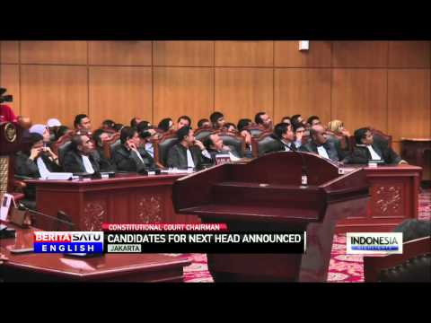 A Head-to-Head Battle for Top Constitutional Court Seat in Indonesia