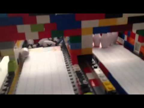 My new mini Lego bowling alley - YouTube