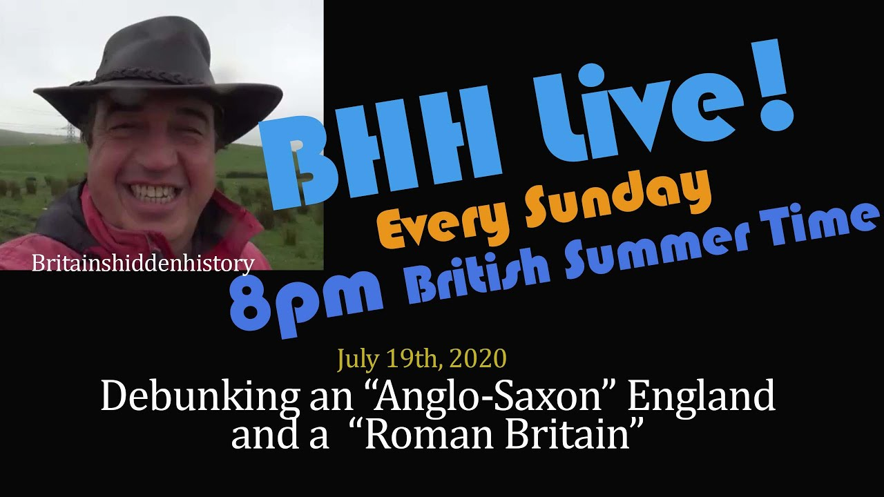 "Debunking the myths of there being an ""Anglo-Saxon"" England or a ""Roman Britain"""