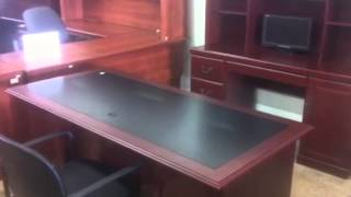 Classic Cherry Executive Office Furniture