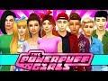 POWERPUFF GIRLS VS ROWDYRUFF BOYS! The Sims 4 Powerpuff Girls: Power of Four | Ep 24