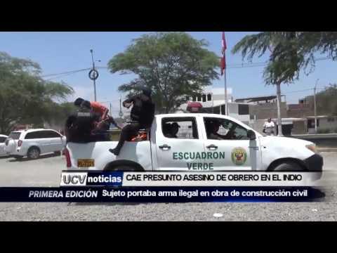 CAE PRESUNTO ASESINO  DE OBRERO DEL A.H EL INDIO-UCV NOTICIAS PIURA