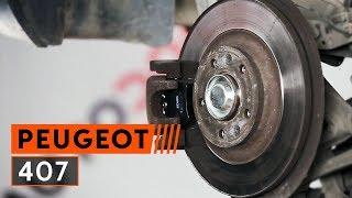 Hoe een achter remblokken vervangen op een PEUGEOT 407 [Handleiding]